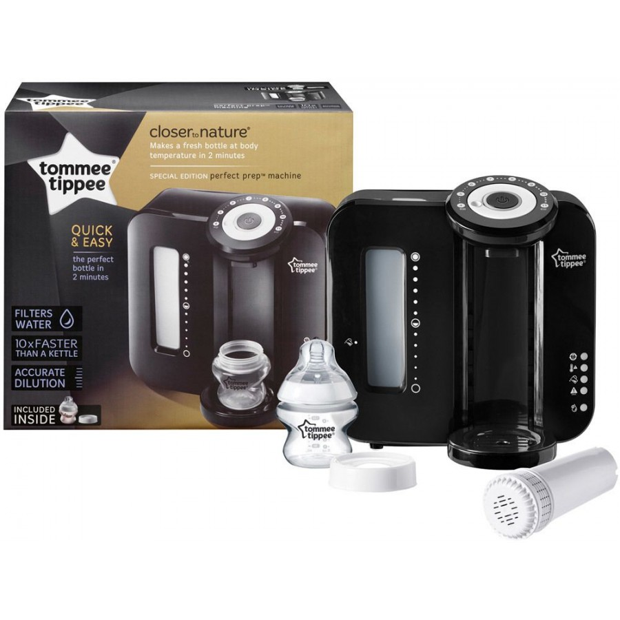 Tommee Tippee Ekspres do mleka Perfect Prep-BLACK EDITION